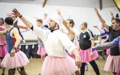 Dads don tutus and complete ballet crash course raising funds and awareness of paternal mental health