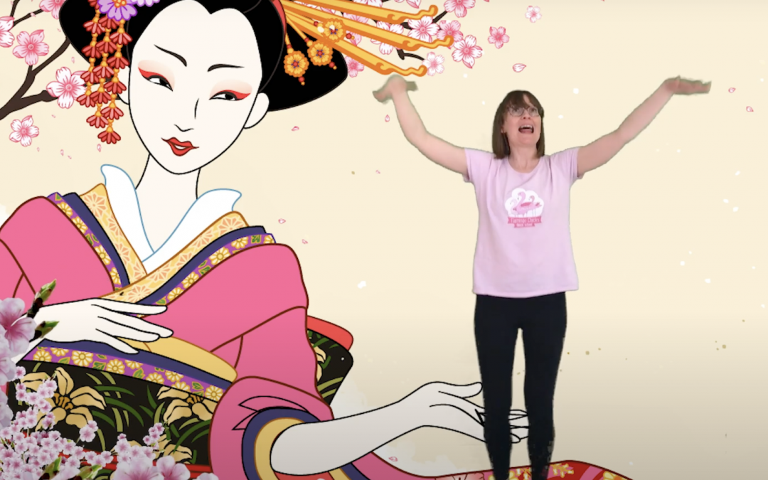 Madame Butterfly Virtual Class Dedicated to Children's Hospice Week
