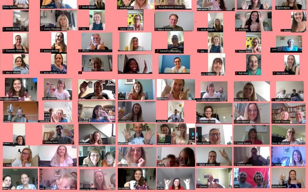 Virtual Celebrations for the Queen's Award!